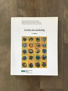 Gestion du marketing 5e édition