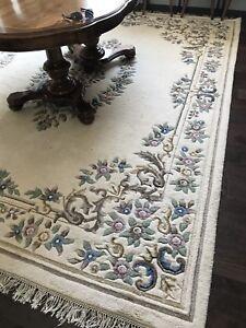 9 x 12 100% wool carpet area rug