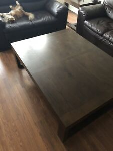 Large Coffee table w/ end tables