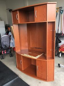 Entertainment center to give away