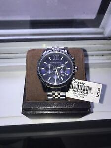 Michael Kors Lexington Watch Silver