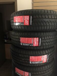 225/65r/17 all season brand new tires.