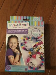 Brand new charm bracelet kit with tattoos!