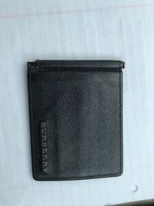 Burberry money clip wallet (used)