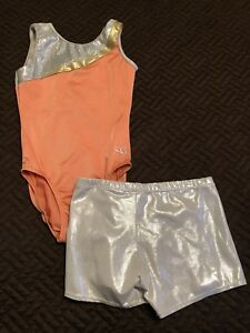 Girls Gymnastics suits  Size 7 - 8