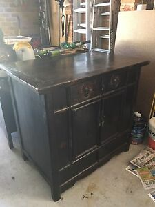 Beautiful hand made solid hard wood antique cabinet Hornsby Hornsby Area Preview