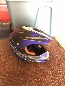 ATV/Dirt bike Helmet Used Size: Large