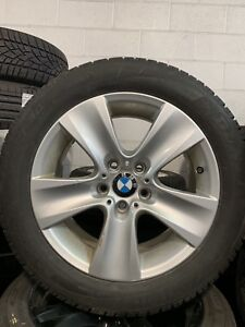 "17"" BMW 5 series O.E winter tire and rim package"