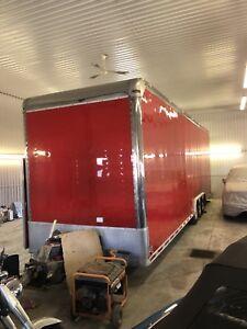 Stacker car trailer