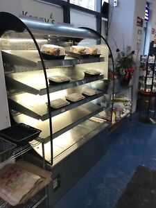 Hot food display Grab & Go/ Hot Table/ Excellent condition