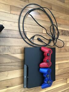 PlayStation 3 with 2 wireless controllers