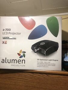 Alumen projector for sale