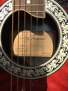 Jay Turser Electric Acoustic Ovation style guitar