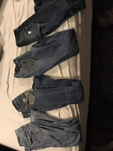 Name brand jeans!