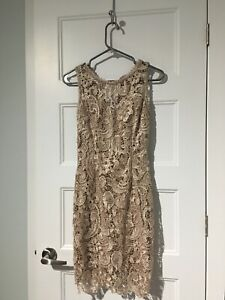 Lace dress- size S