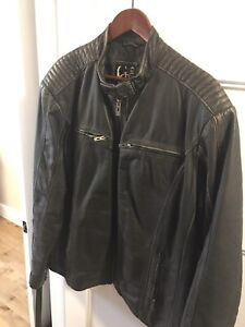 Guess Leather Jacket  (New)