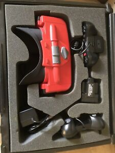 Virtual Boy with games, flash cart and case