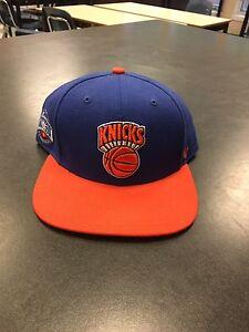 New York Knicks Adult Adjustable Flat Cap