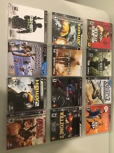 PS3 games and accessories.