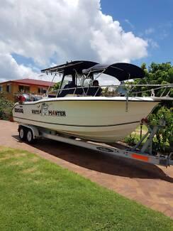 sports fishing boat
