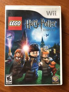 Wii Harry Potter LEGO Game Yrs.  1-4