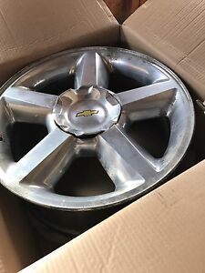 "20"" Chevy rims in decent shape"