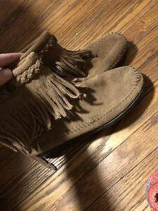 Brand new condition moccasins