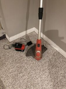 Battery operated Black & decker weed trimmer