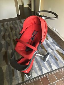 Stokke Xplory Stroller with Car Seat Adapter