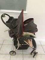 Cosco 3 pcs stroller with excellent condition.