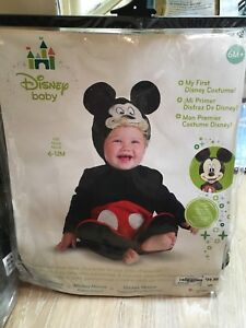 Infant Mickey Mouse Halloween Costume-NEW