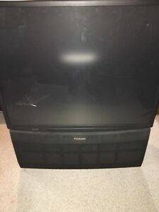"Panasonic 52"" projection tv - free"