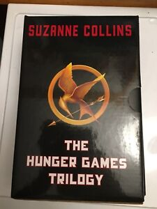 The Hunger Games hard cover books