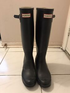Hunter rain boots women's US 7