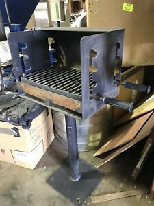 Industrial Outdoor Charcoal BBQ Grill