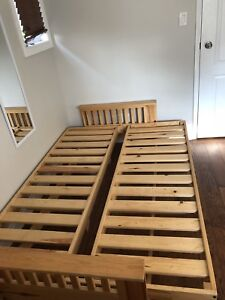 PINE FUTON OR DOUBLE/FULL BED
