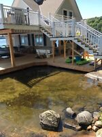 Decks, docks, small Reno's cottage watch and maintenance