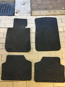 BMW  3 series E90 OEM  WINTER MATS 2006-2013  TAPIS DHIVER