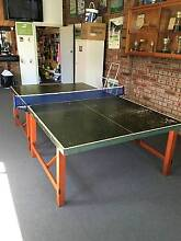 Vintage table tennis table-built to last Roseville Ku-ring-gai Area Preview