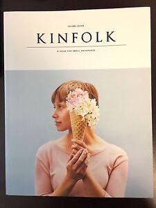 Kinfolk magazine vol. 7 and 8