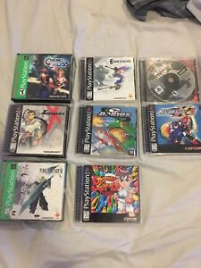 PS1 collection Einhander  - Xenogears - G Darius - Final Fantasy