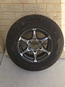 "Wanted 14"" jayco rim and tyre The Vines Swan Area Preview"