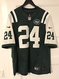 New York Jets Darrelle Revis Nike Jersey Sz Medium - 9.5/10