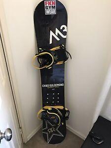 Snowboard men's 157cm Rockstar Success Cockburn Area Preview