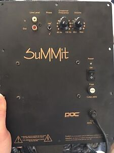NUANCE PLATE AMPS & SPEAKER REPLACEMENTS