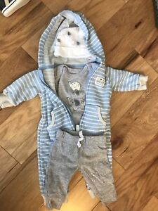 Baby winter outfits 0-3m