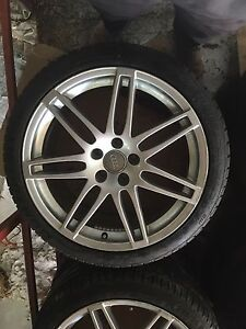 19 inch RS4 rims 5x112