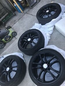Mercedes Benz Rims : Brabus Black Arrow Rims