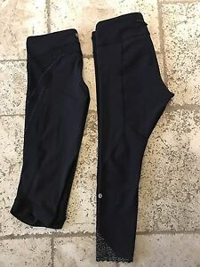 Lululemon Capri and pants (size 10 & 12)