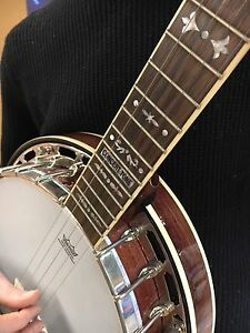 Banjo for sale! (Case, picks, strap incl.)